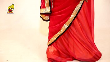 how to rope up net saree how to.