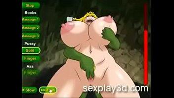 three dimensional anime porno orgy game princess peach.