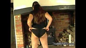 adorable big plump mate displaying her.