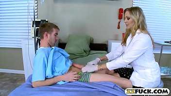 cougar physician with humungous melons pulverized by her.