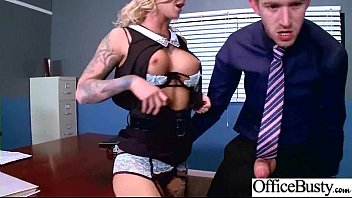 kleio valentien enormous-chested marvelous office chick engaged in.
