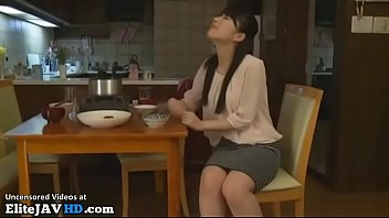 japanese wifey hotwife hubby with her chief -.