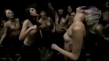 goth femmes fight rock-hard
