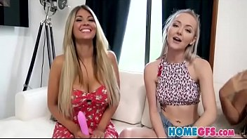 kayla kayden and her hottest homies penetrate stick.