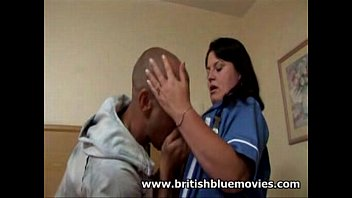 brit fledgling nurse gets anal intrusion.