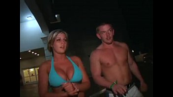 school light-haired with hefty boobs gets picked up.