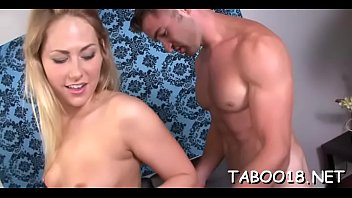 gorgeous silver-blonde teenager fucktoys her raw.
