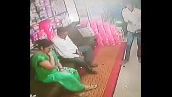 desi tharki uncle forcefully smootch aunty in boot store