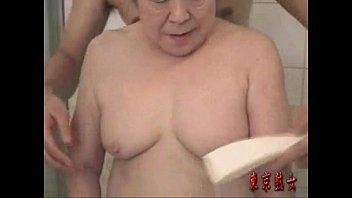 japanese grandma luving make-love