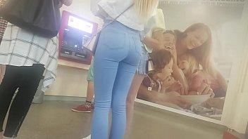 mischievous sizzling booty in public