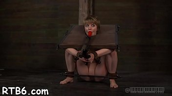restricted bombshell is elevated up for her supah-pulverizing-hot castigation