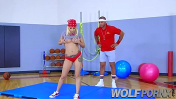 marsha may is a tart allure her gym.