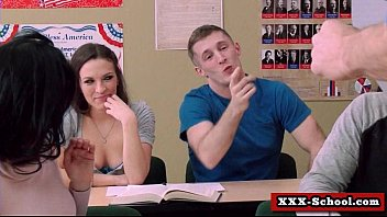 wondrous instructor pulverized at school 28