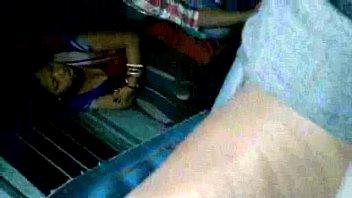 steamy bengali aunty revealing udders thru dark-hued hooter-sling.
