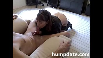 sumptuous cougar gives lovely blow-job and.