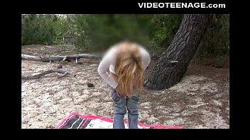 blondie teenie fabienne at beach