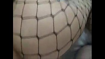 djsexy cougar penetrates hubby in fishnet