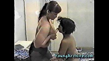 mature mummy seducing youthfull damsel part.