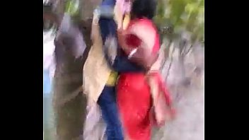 marathi desi boy and aunty sultry smooch in public