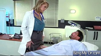 molten patient brooke wylde and therapist in bang-out.