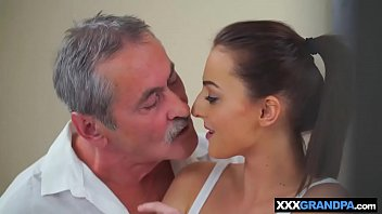 older granddad manstick meets youthfull nubile slit of.