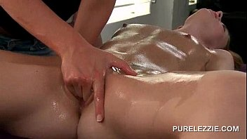 softcore girl-girl rubdown turning into a.