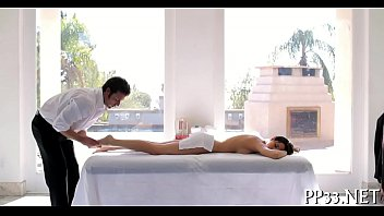 lusty railing with thrilled masseuse