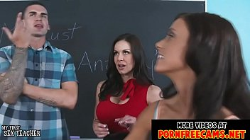fabulous schoolteachers kendra eagerness and whitney westgate banged.