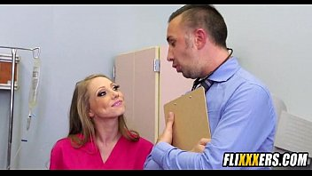 nurse gets railed at work.