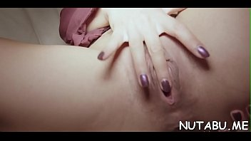 unrighteous nubile playgirl frigs herself deep in her.