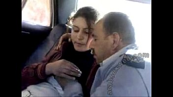 arab police catching broads from street and caressing.