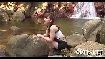 lovable japanese cutie loves fantastic and humid outdoors orgy