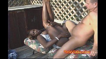 ebony stunner pounded at a swingers soiree in public