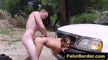 youthfull stripper sara luvv gets cunny manhandled by.