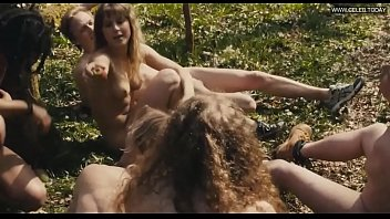 eleanor wyld - running bare in the forest.
