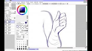 manga porno speed drawing - part 1 - sketching