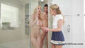 man fucks enormous-titted mummy and nubile.