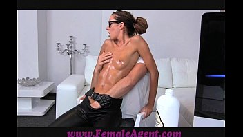 femaleagent cougar gets all lubricated by.