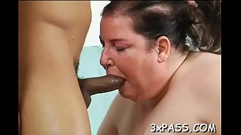 phat large dark-hued strapon comes in jaws of.