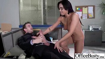 in office orgy is more joy with breezy.