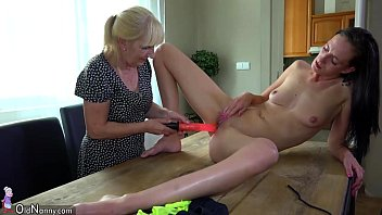 senior girl and ultra-cute gal wanking with faux.