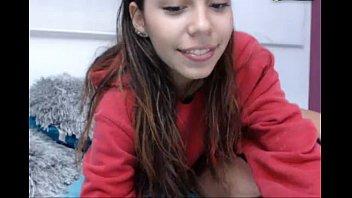 linda chica capturada en videochat