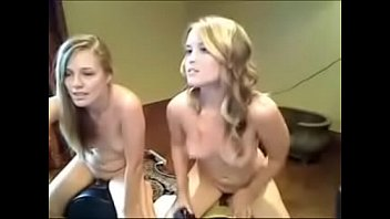 two steaming silver-blonde cam damsels shrieking ejaculations on.