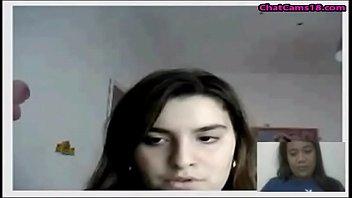 phillipnes female displays knockers on webcam