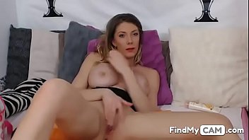 home alone blondie frigging her naughty moist vagina.