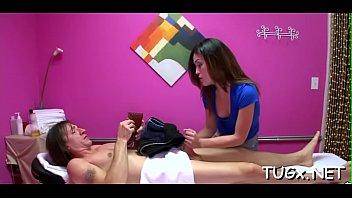 messy masseuse loves naughty bang-out