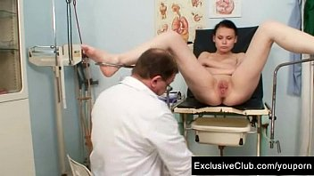 humungous-boobed honey gynecology examination by messy.