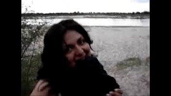 argentina mamando y cogiendo a un lado del rio