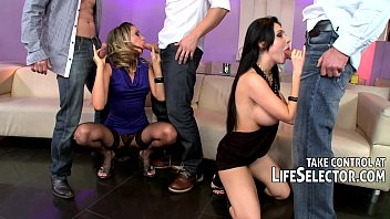 gang-nail rectal double invasion girly-girl fuck-fest with aletta ocean
