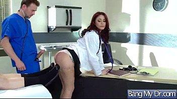 crimson-hot patient monique alexander and doc in intercourse.